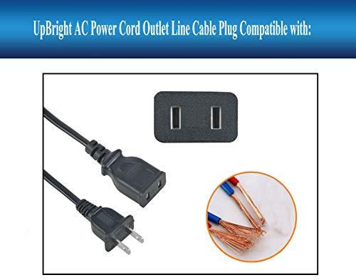 UpBright NEW AC Power Cord Charging Cable For Schumacher DSR PSJ-2212 PSJ-3612 PSJ-1812 PSJ-4424 Jump Starter IP-70NC PowerStation PSX2 PSX3 PSX1004 CEN-TECH 38391 60666 62453 6237 EverStart MAXX 1200