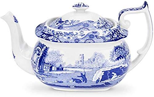 Spode Blue Italian Teapot