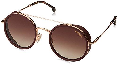 Carrera CA167/S Round Sunglasses, Gold Copper, 50 mm