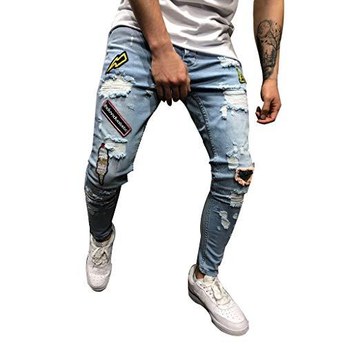 MoonHome Mens Super Comfy Straight Stretch Knit Jersey Denim Five Pocket Jean