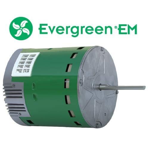 AireFlo - Genteq Evergreen 3/4 HP 230 Volt Replacement X-13 Furnace Blower Motor