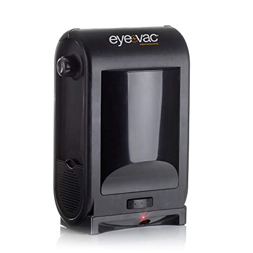 EyeVac PRO Touchless Stationary Vacuum - 1400 Watts Professional Vacuum with Active Infrared Sensors, High Efficiency Filtration, Bag-Less Canister (Tuxedo Black)