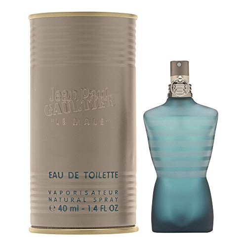 Jean Paul Gaultier Le Male for Men Eau De Toilette Spray, 1.3 Ounce