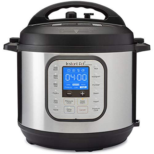 Instant Pot Duo Nova Pressure Cooker 7 in 1, 6 Qt, Best for Beginners