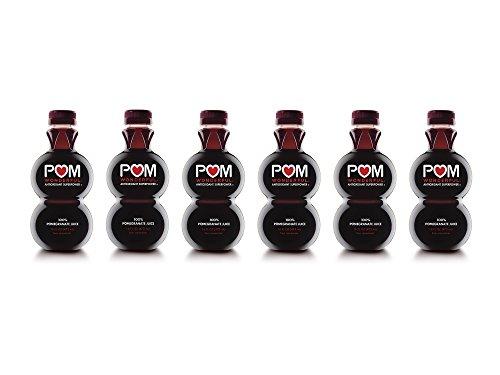 POM Wonderful 100% Pomegranate Juice, 16 Fl Oz, 6 Count