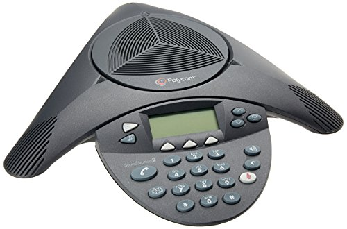 Polycom SoundStation2 Expandable Conference Phone (2200-16200-001) (Renewed)