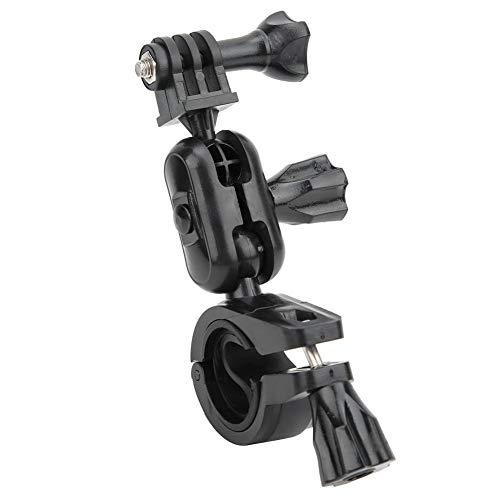 Mugast Sports Camera Bike Bracket, 360 Degrees Rotation Bicycle Handlebar Bracket Clip for GOPRO/DJI Sports Camera for Bumpers, ski Poles, Walking Sticks, etc