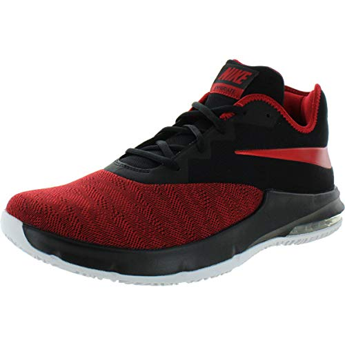 Nike Womens Air Max in iate Low Low Top Lace Up Basketball, Red, Size 11.5
