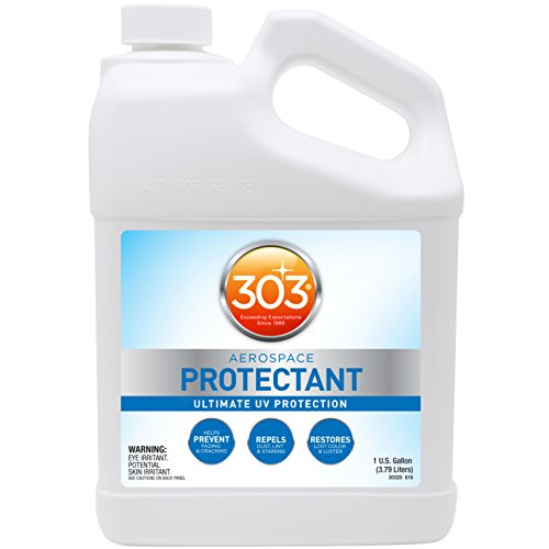 303 (30320) Products Aerospace Protectant - Ultimate UV Protection - Keeps Vinyl, Rubber, & Plastic Looking Newer, Longer - Prevents Fading And Cracking - Restores Lost Color And Luster, 1 Gallon