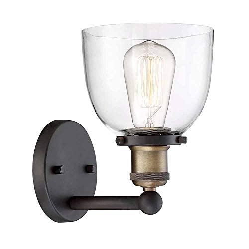 Home Decorators Collection View The Collection 1-Light Artisan Bronze Wall Sconce