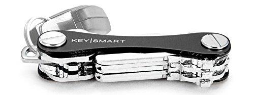KeySmart Classic - Compact Key Holder and Keychain Organizer (up to 14 Keys, Black)