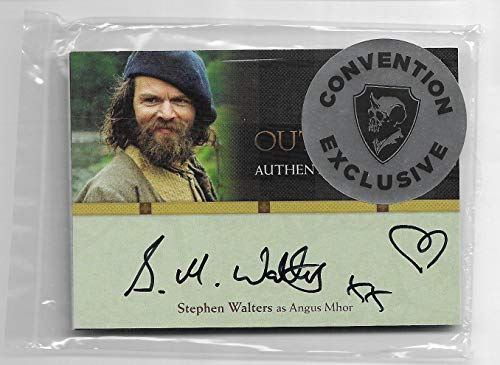 LACC NYCC 2019 Cryptozoic Outlander Season 1 Stephen Walters Autograph Card Exclusive Pack