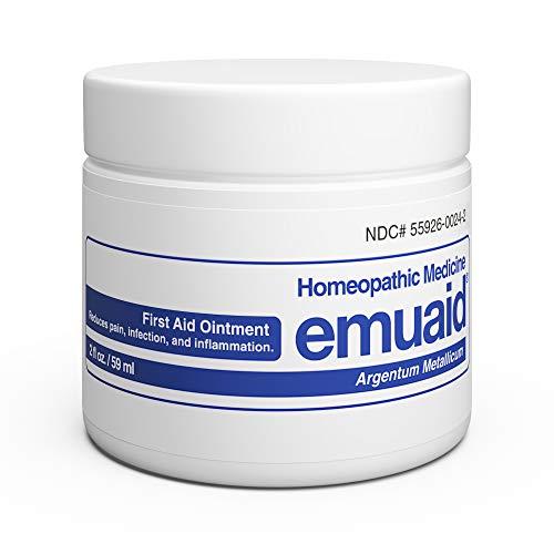 Emuaid Ointment - Antifungal, Eczema Cream. Regular Strength Treatment. Regular Strength for Athletes Foot, Psoriasis, Jock Itch, Anti Itch, Ringworm, Rash, Shingles and Skin Yeast Infection.