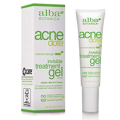 Alba Botanica Acnedote, Invisible Treatment Gel, 0.5 Ounce