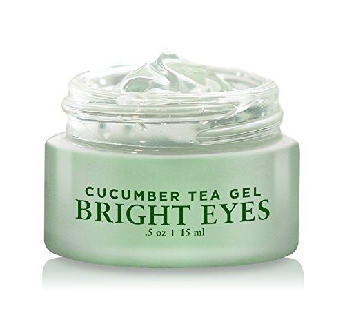 BASQNYC Cucumber Tea Eye Gel, 0.5oz