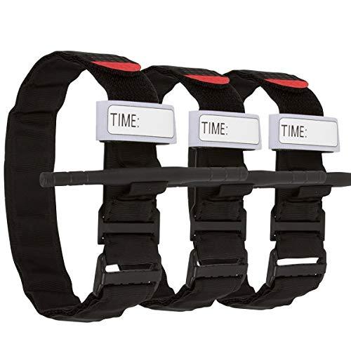 Tourniquet:Emergency Tourniquets, Combat Medical Tourniquet, Hiking First Aid Kit Military Tactical Tourniquet for Bleeding Control, Life Saving Hemorrhage Control, School Training (Black,3-Pack)