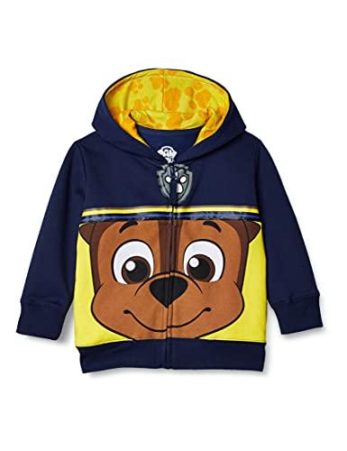 Paw Patrol Boys' Toddler Character Big Face Zip-up Hoodies