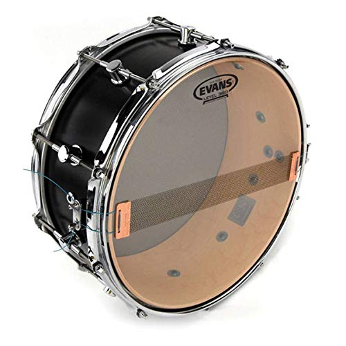"Evans Clear 300 Snare Side Drumhead, 12"" – Made Using a Single Ply of 3mil Film for Wide Dynamic Range and Controlled Snare Response at all Dynamic Levels – Versatile for Many Playing Styles"