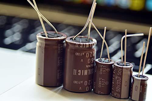 4 pcs Elna SILMILC II Capacitors - 25V 100uf