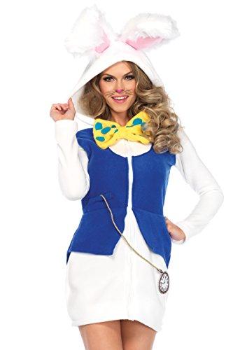 Leg Avenue Women's Costume, White/Blue, Small