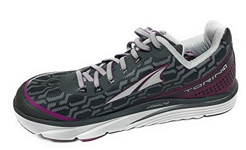 ALTRA Women's Torin IQ Road Running Shoe, Black/Purple, Size 7.5 M US, ALW1837Q050
