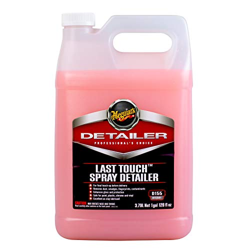 Meguiar's D15501 Last Touch Spray Detailer, 1 Gallon