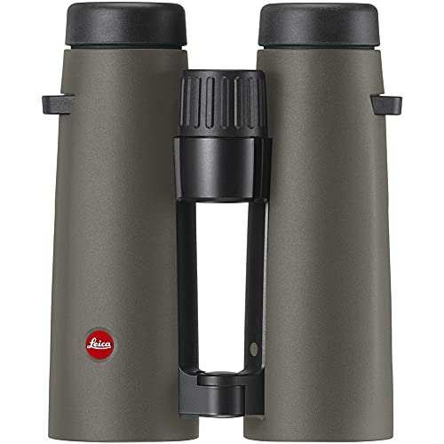 LEICA Noctivid 8x42 Robust Waterproof Nitrogen-Filled Binocular for Hunting and Birdwatching, Olive Green 40386