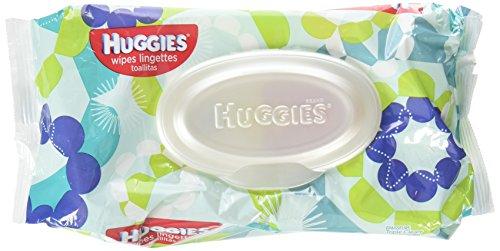 Huggies One & Done Wipes, Cucumber & Green Tea, 56 Count