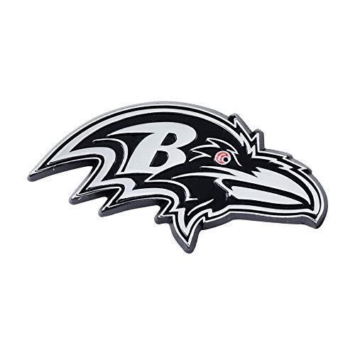 NFL Baltimore Ravens Premium Metal Auto Emblem