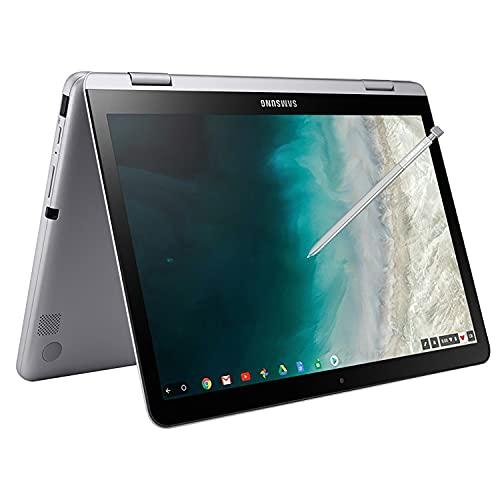 Samsung Chromebook Plus 12.2' FHD WUXGA Touchscreen 2-in-1 Laptop Computer, Intel Celeron 3965Y Processor, 4GB RAM, 64GB eMMC, 802.11AC WiFi, Light Titan, Chrome OS, Digital Pen