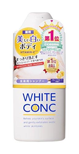 White Conc Moisturizing and Skin Whitening Body Wash from Japan for Women 12.2 fl oz