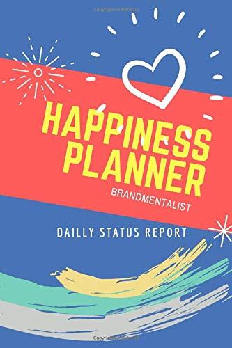Dailly Status Report happiness planner brandmentalist: Jobsite Project Management Report, Site Book | Book Report Workbook