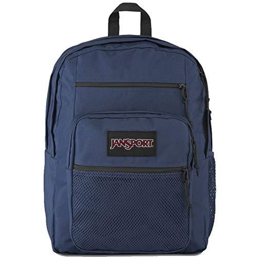 Jansport Big Student Backpack Navy/Mesh