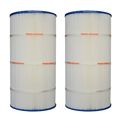 Pleatco PXST100 100 Sq Ft Replacement Pool Filter Cartridge Element (2 Pack)