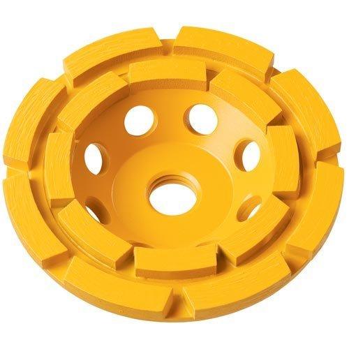 DEWALT Concrete Grinding Wheel, Double Row, Diamond Cup, 5-Inch (DW4777)