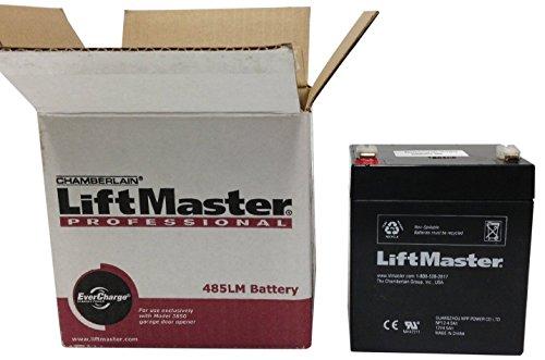 Chamberlain Liftmaster 485LM Battery LiftMaster Garage Door Openers 485LM Battery Backup, OEM