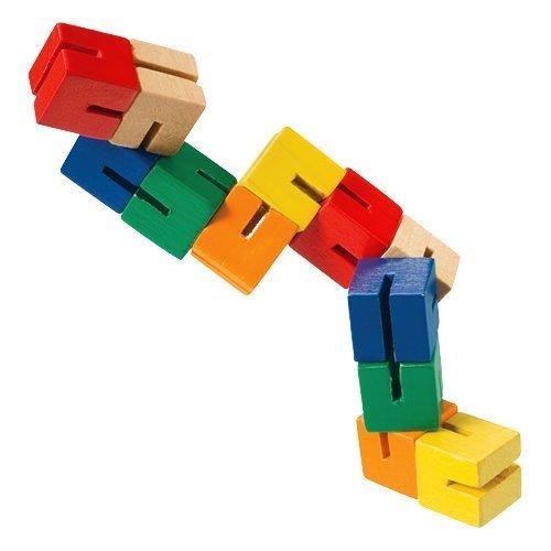 Wooden Puzzle Fidget 6 Pack
