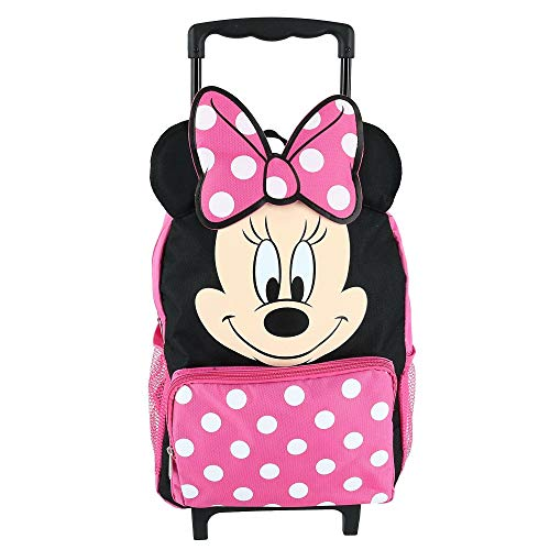 Minnie Mouse 14' Softside Rolling Backpack