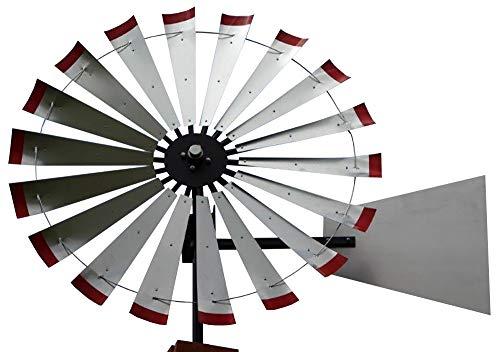 60-inch Windmill Head w/Plain Rudder & Instructions to Build a 20-Foot Tall Windmill