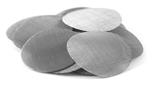 Made in The USA - 50 1/4 Inch (.25') 304 Stainless Steel Premium Pipe Screen Filters