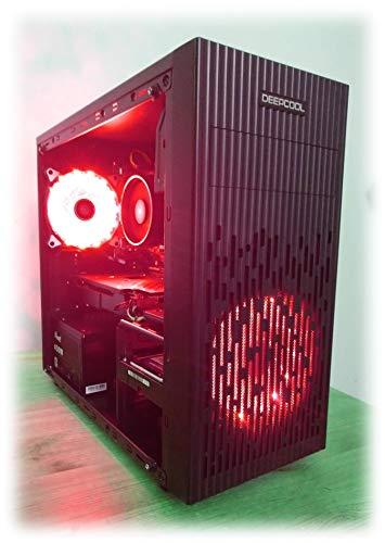 Centaurus Druid 2 Gaming Computer - AMD Ryzen 3 3200G Quad, 16GB 3000MHz, Vega RX 8, 500GB SSD, Windows 10 64bit. Fast CPU, red LEDs