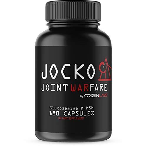 Jocko Joint Warfare - 400MG Curcumin - Glucosamine - MSM - Boswellia - Quercetin - Joint Support Supplement 180 Tablets