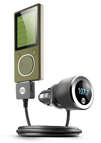 Digital Lifestyle Outfitters DLA57878/17  TransDock micro FM Transmitter / Charger with IntelliTune for Zune (Black/Silver)