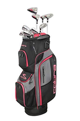 Cobra Golf 2019 XL Speed Complete Set (Women's, Black-Pink, Right Hand, Graphite, Ladies Flex, Petite)