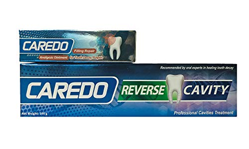 CAREDO Analgesic Ointment for Tooth Decay Pulpitis Toothpaste Treatment Dental Caries for Adult, The ONLY Toothpastes to Cure Repairing Teeth Cavities