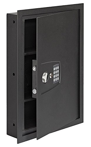 SnapSafe In Wall Safe, Electronic Hidden LED Home Security Safe, Measures 16.25'x 22'x 4'