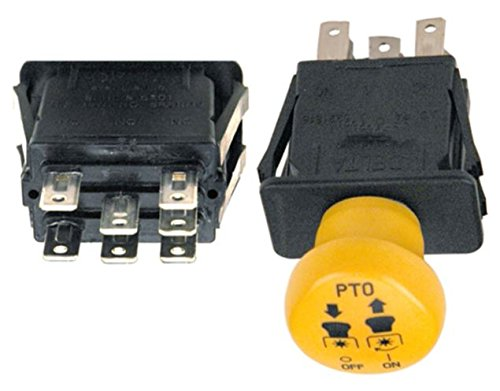 PTO Switch for Cub Cadet GT1054, GT1554, GT3100, GT3200, GTX1054, I1042, I1046, I1050, LT1040, LT1042, LT1045, LT1046, LT1050, LTX1042, LTX1045, LTX1046, LTX1050, SLTX1050, SLTX1054 and more
