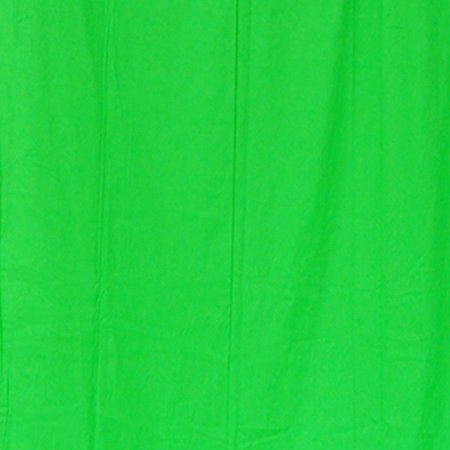 StudioFX 10x20 Chromakey Green Muslin Backdrop 100% Cotton Machine Washable Photography Photo Video Green Screen