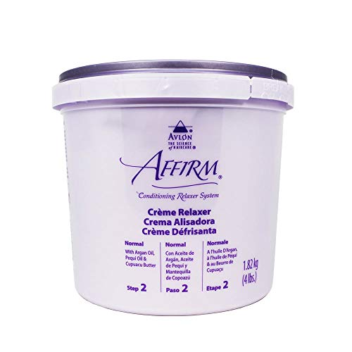 Avlon Affirm Creme Relaxer Original Formula Normal 4 lbs.