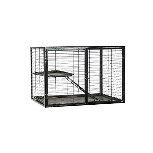 AmazonBasics Small Animal Metal Pet Cage Add On (25-Inch)